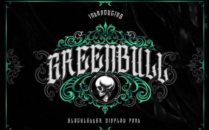 Greenbull Blackletter Font
