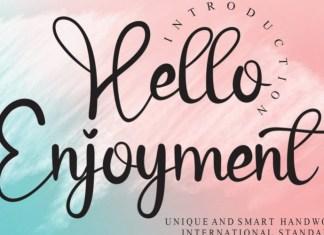 Hello Enjoyment Font