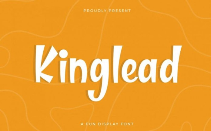 Kinglead Display Font