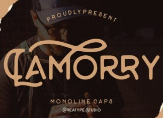 Lamorry Display Font