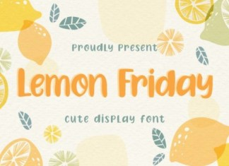 Lemon Friday Display Font