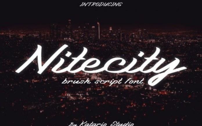 Nitecity Font