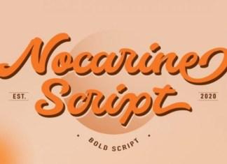 Nocarine Script Font