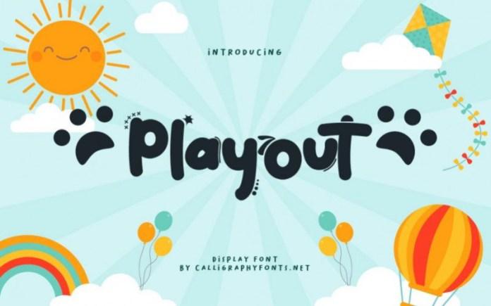 Playout Font