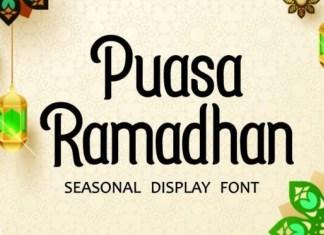 Puasa Ramadhan Display Font