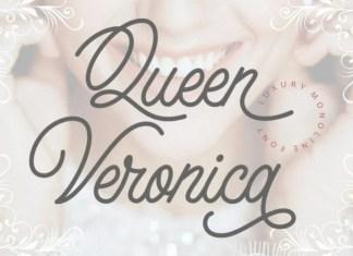 Queen Veronica Script Font