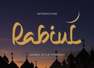 Rabiul Trial Font