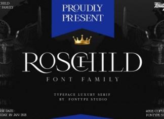 Roschild Sans Serif Font
