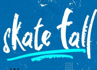 Skate fall Brush Font