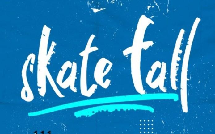 Skate fall Brush Font
