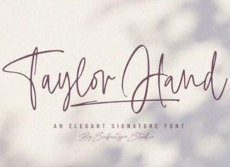 Taylor Hand Script Font