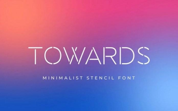 Towards Display Font