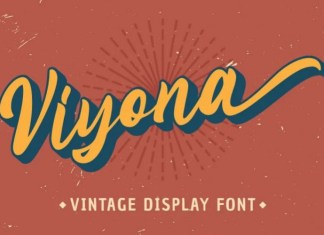 Viyona Script Font