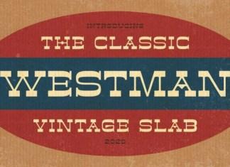 Westman Slab Serif Font