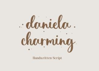 Daniela Charming Script Font