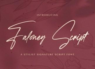 Faloney Script Font