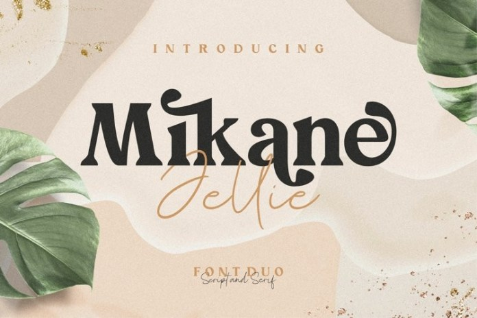 Mikane Jellie Font Duo