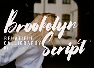 Brookelyn Brush Font