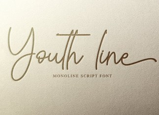 Youth line Handwritten Font