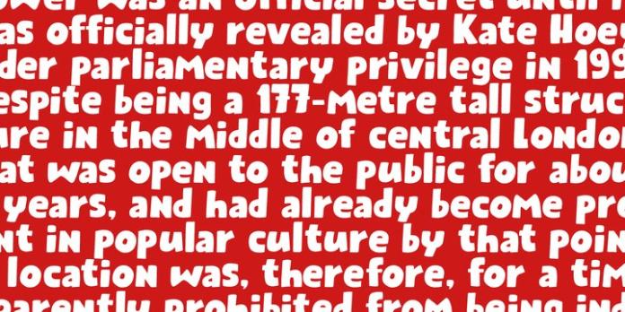 Public Secret Display Font