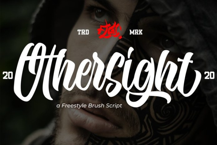 Othersight Brush Font