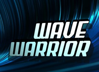 Wave Warrior Display Font