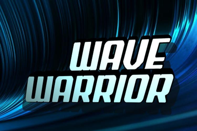 Wave Warrior Display Font