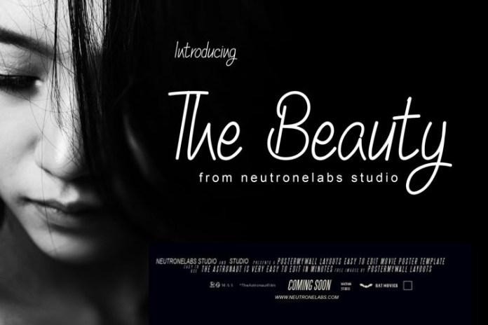 The Beauty Handwritten Font