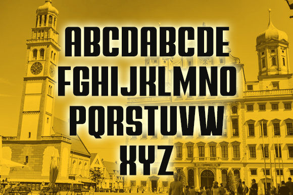 Augsburg Display Font
