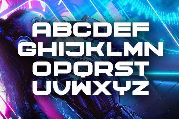 Cyber Princess Display Font