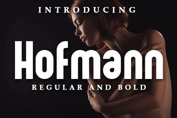 Hofmann Sans Serif Font
