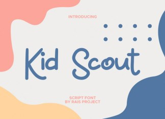 Kid Scout Handwritten Font