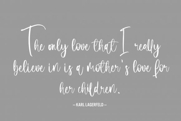 Motherhood Script Font