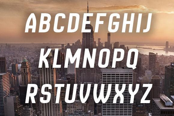 New Amsterdam Sans Serif Font
