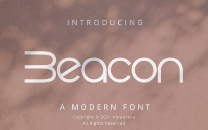 Beacon Sans Serif Font