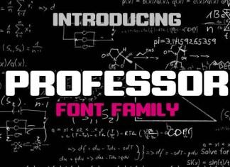 Professor Display Font