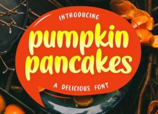 Pumpkin Pancakes Display Font