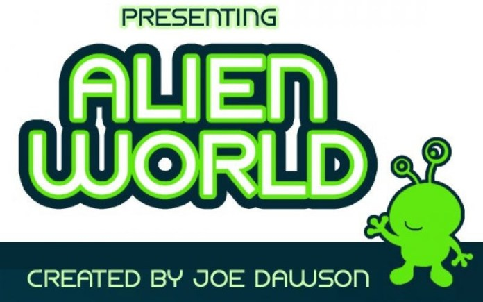 Alien World Sans Serif Font