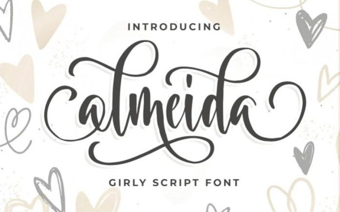 Almeida Script Font