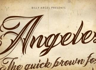 ANGELES Script Font