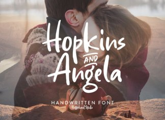 Hopkins Angela Display Font