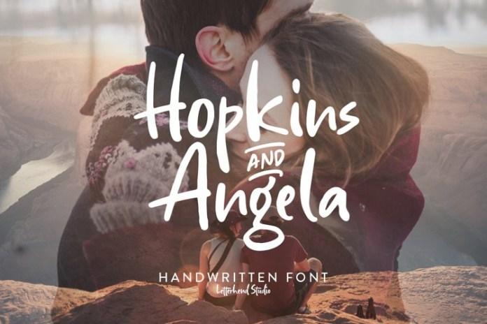 Hopkins Angela Display Font