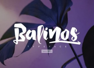 Balinos Display Font