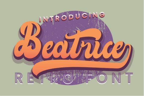 Beatrice Bold Script Font