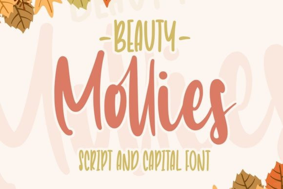 Beauty Mollies Display Font