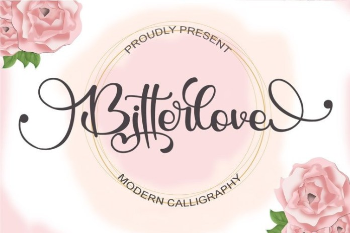 Black Catthie Calligraphy Font