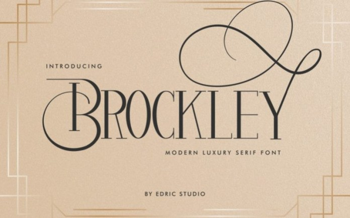 Brockley Serif Font