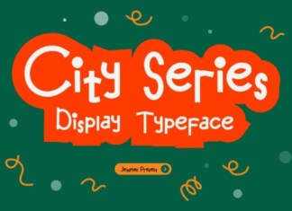 City Series Display Font
