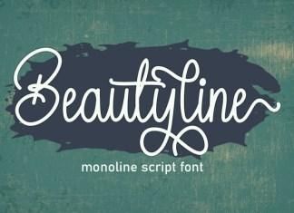 Beautyline Script Font