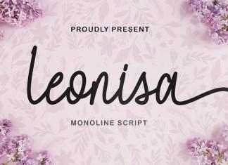 Leonisa Handwritten Font